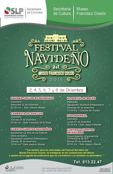 Festival Navideño del Museo Francisco Cossío @ Museo Francisco Cossío
