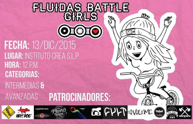 Fluidas Battle Girls BMX @ Instituto CREA