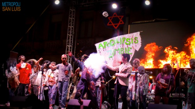 Marcha Zombie SLP 2015 (2)