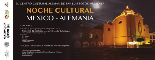Noche Cultural Alemania Mexico @ Museo Regional Potosino