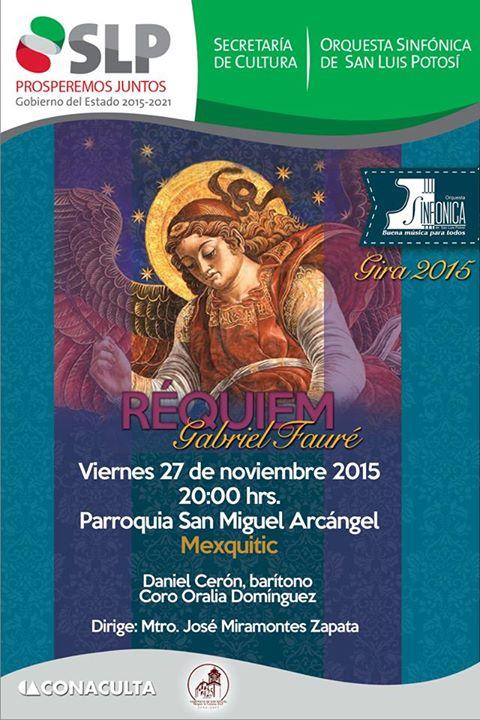 Concierto de la Orquesta Sinfónica de San Luis Potosí @ Parroquia de San Miguel Arcangel | Mexquitic de Carmona | San Luis Potosí | México