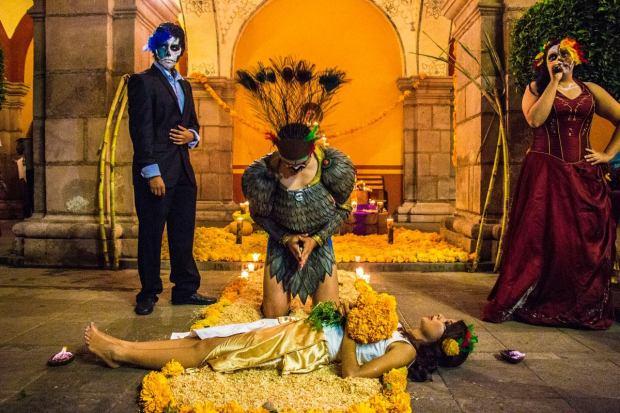 altar de muertos ganador UASLP 2