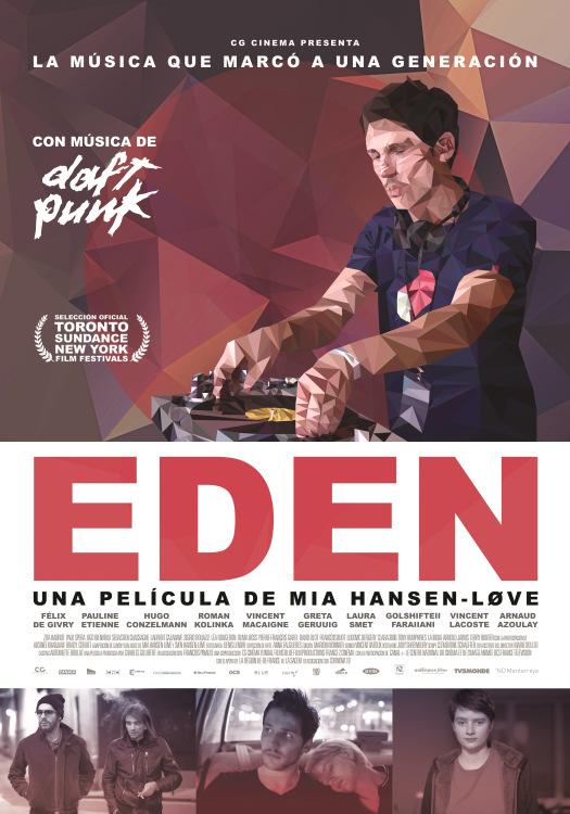 cartel película Edén