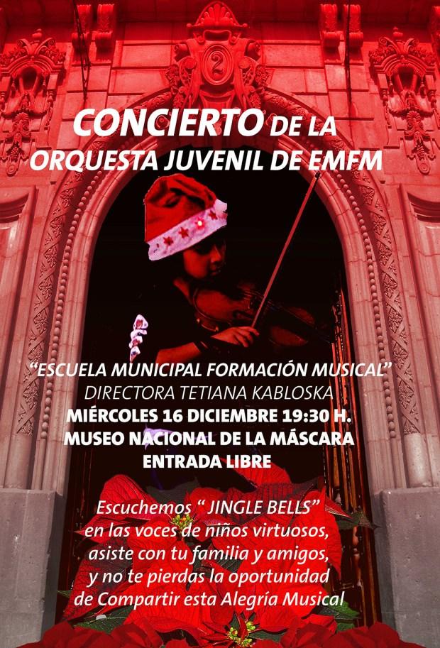 Concierto de la Orquesta Juvenil de EMFM @ Museo Nacional de la Máscara