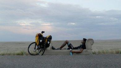 Photo of Potosino rompe récord, atraviesa el continente Americano en bicicleta