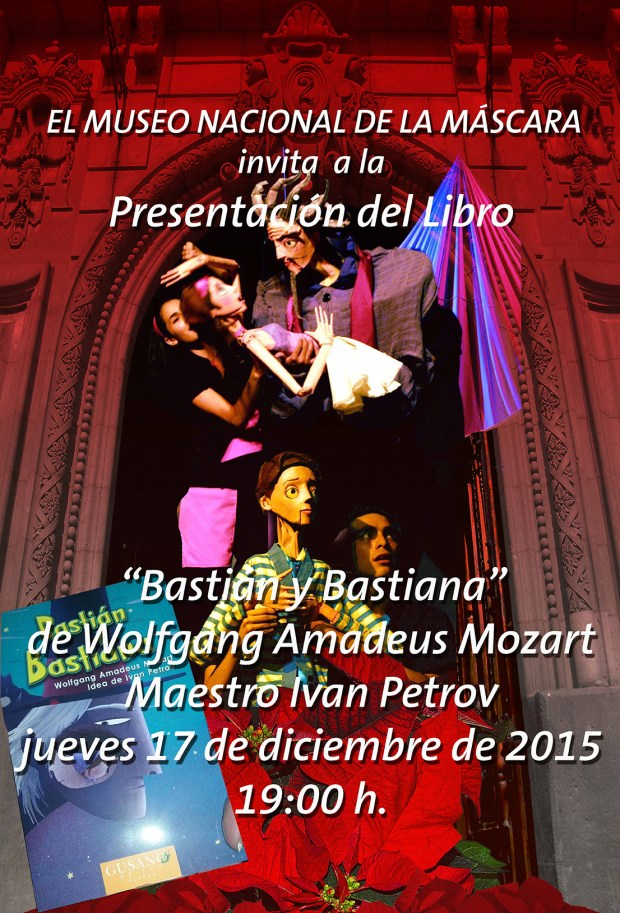 """Presentación del libro """"Bastian y Bastiana"""" @ Museo de la Máscara"""