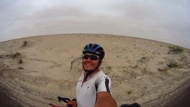 Photo of UASLP reconoce a potosino que cruzo el continente Americano en bicicleta