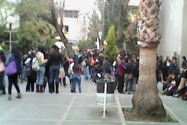 Protesta FCA UASLP