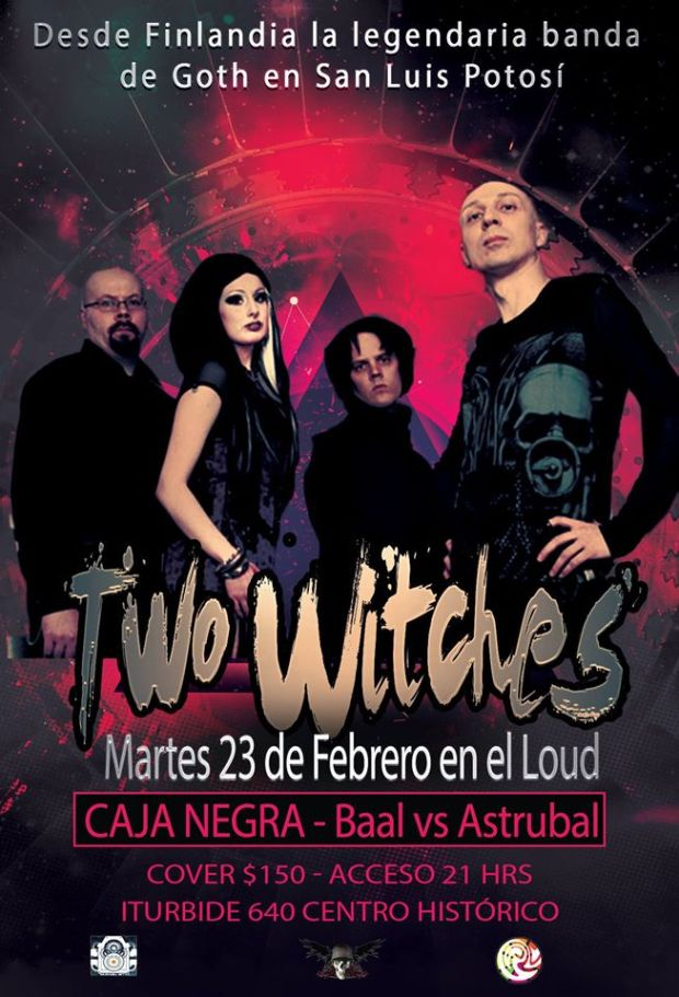 Two Witches en San Luis Potosí