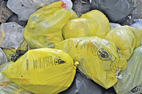 basura amarilla