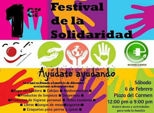 1er Festival de la Solidaridad