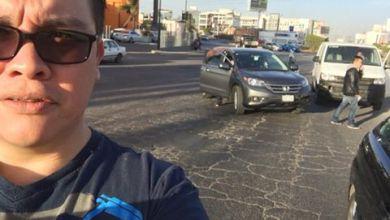 Photo of Franco Escamilla sufre percance vial al llegar a San Luis Potosí