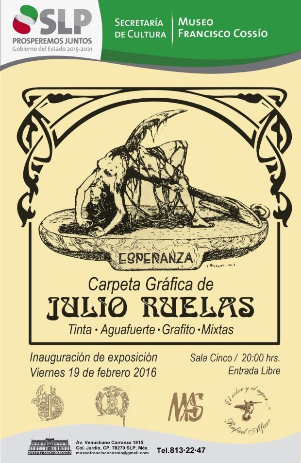 Exposición de Julio Ruelas en el Museo Francisco Cossío @ Museo Francisco Cossío