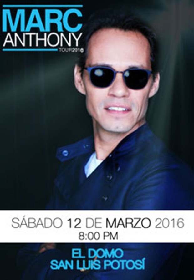 Marc Anthony en San Luis Potosí
