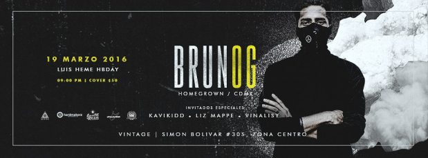 Brunog @ Vintage Cerveceria | San Luis Potosí | San Luis Potosí | México