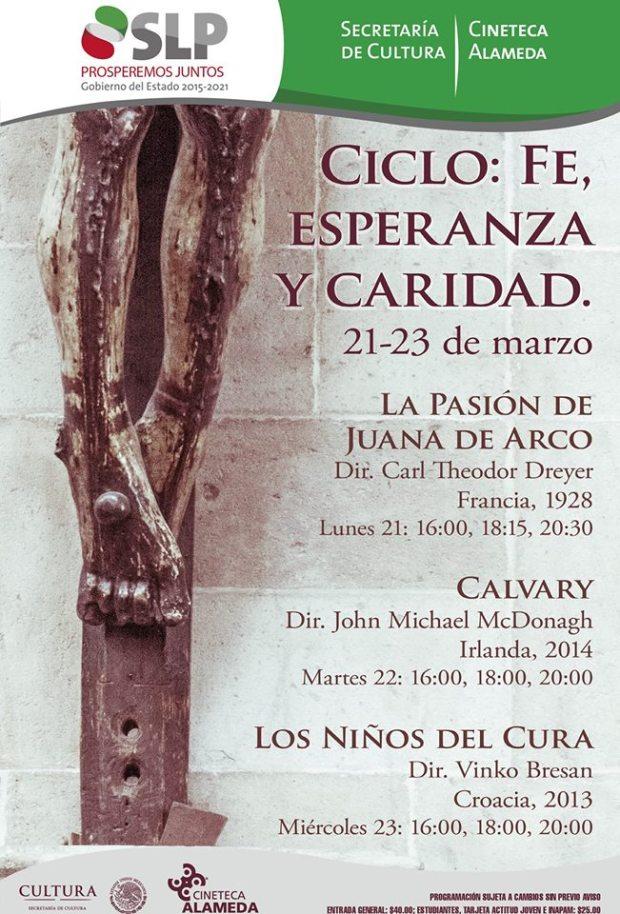 Ciclo: Fe, Esperanza y Caridad / La pasión de Juana de Arco @ Cineteca Alameda