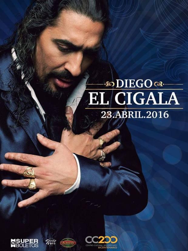 Diego El Cigala en San Luis Potosí @ Centro Cultural Universitario Bicentenario | San Luis Potosí | San Luis Potosí | México