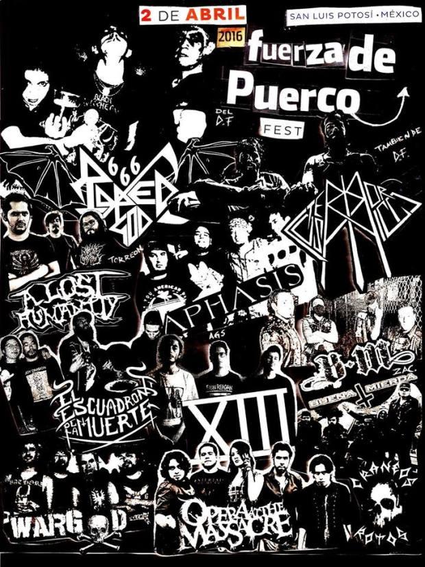 Fuerza de Puerco Fest 3 @ San Luis Potosí | San Luis Potosí | México