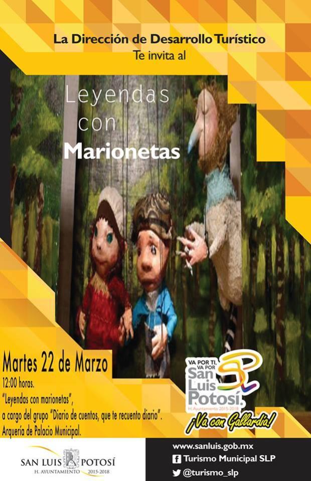 Leyendas con Marionetas en Semana Santa @ Centro Cultural Palacio Municipal