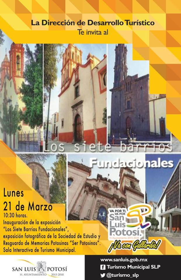Exposición: Los Siete Barrios Fundacionales @ Centro Cultural Palacio Municipal