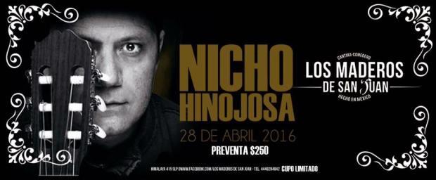 Nicho Hinojosa en Los Maderos de San Juan @ Los Maderos de San Juan | San Luis Potosí | San Luis Potosí | México