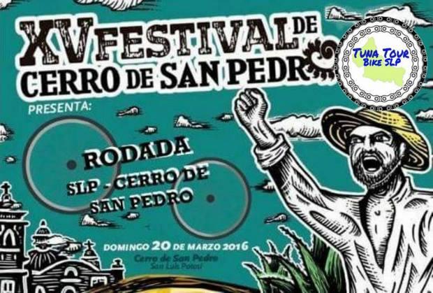 Rodada el XV Festival del Cerro de San Pedro @ Plaza de los Fundadores | San Luis Potosí | San Luis Potosí | México