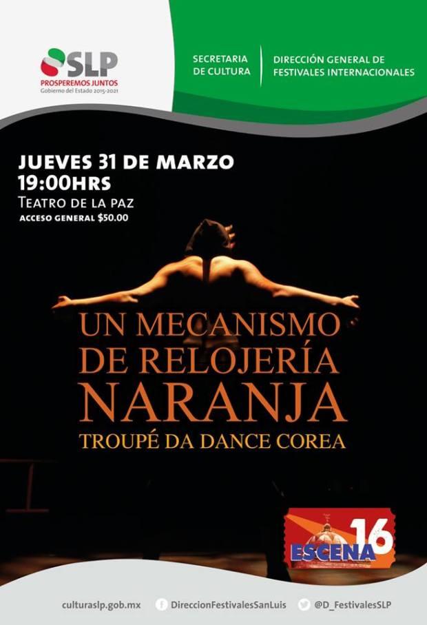 Troupe Da Dance de Corea en San Luis Potosí @ Teatro de la Paz