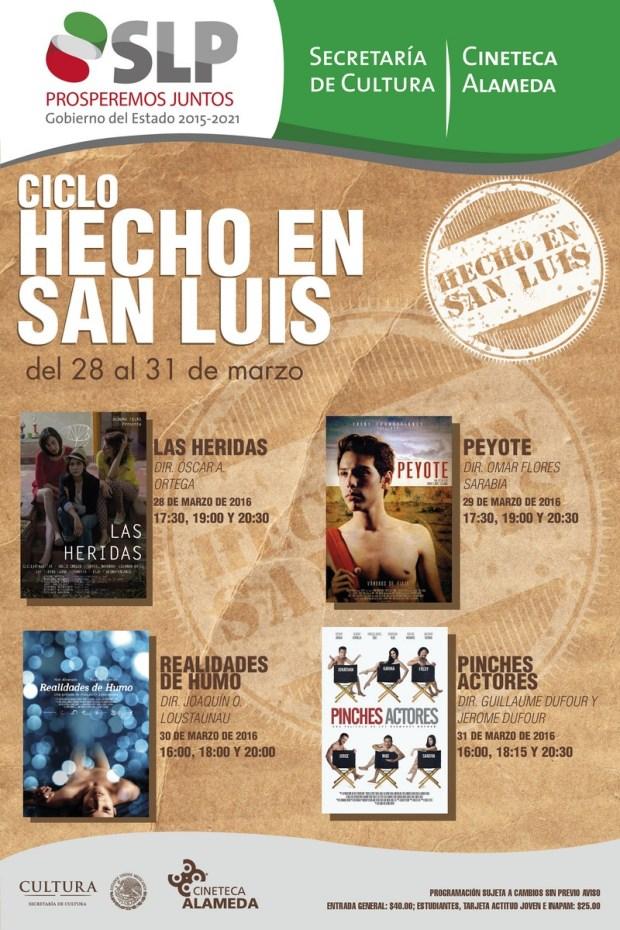cartel HECHO EN SAN LUIS