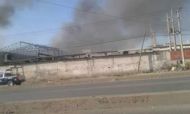 explosión Zona Industrial