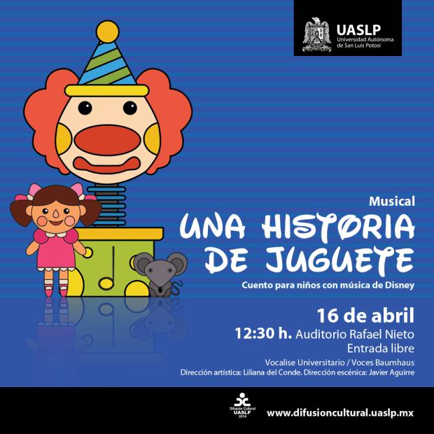 Una historia de juguete @ Auditorio Rafael Nieto