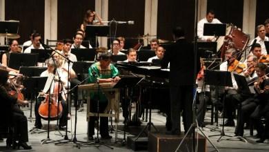 Photo of Exitosos concierto del dueto Dulcemelos y la Orquesta Sinfónica de San Luis Potosí