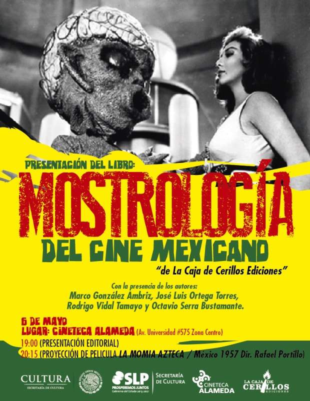 Presentación del libro: Mostrología del Cine Mexiano @ Cineteca Alameda