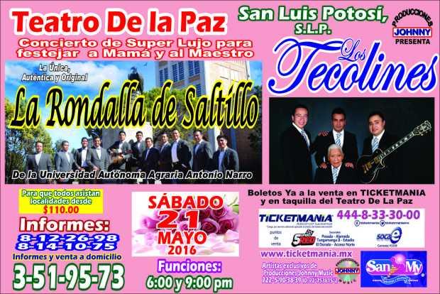 La Rondalla de Saltillo en el Teatro de la Paz @ Teatro de la Paz