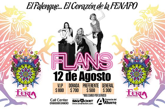 Flans en el Palenque de la FENAPO @ Palenque de la Fenapo | San Luis Potosí | San Luis Potosí | México