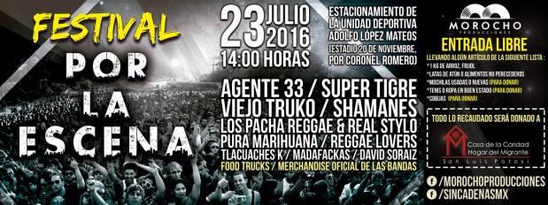 """Festival """"Por La Escena"""" @ Estadio 20 de Noviembre"""