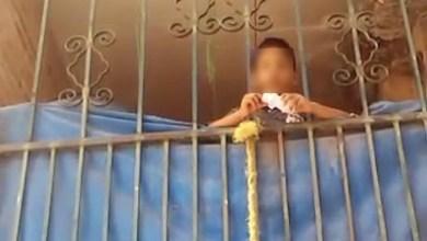Photo of Policía Municipal rescata a niño abandonado y amarrado en el patio