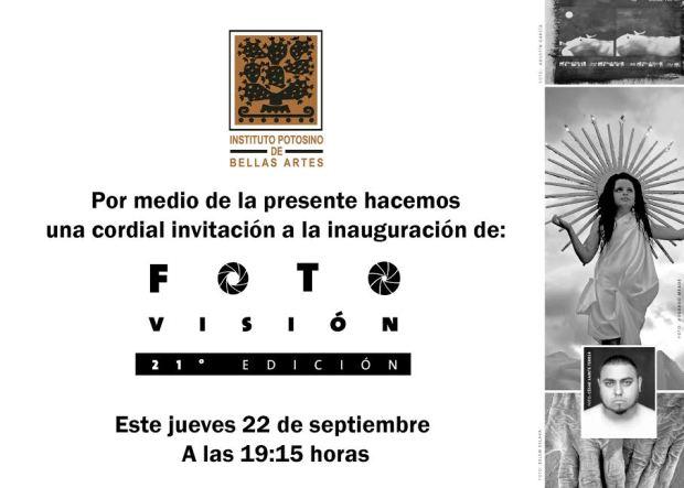 21° Fotovisión @ Instituto Potosino de Bellas Artes