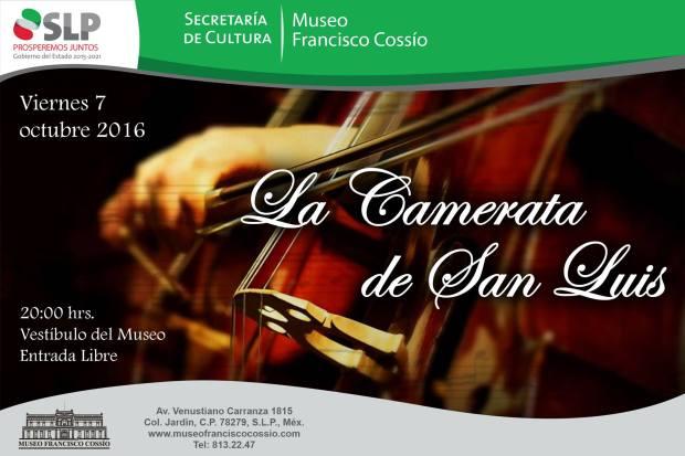 Camerata de San Luis en el Museo Francisco Cossío @ Museo Francisco Cossío