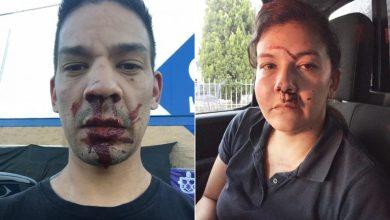 Photo of Jóvenes defienden lugar para discapacitados y fueron golpeados