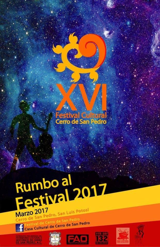 Concurso de Cartel Festival Cerro de San Pedro 2017