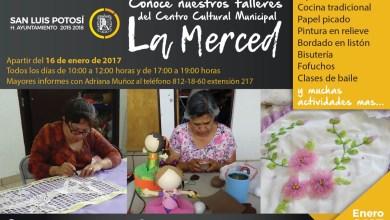 Photo of Invitan a inscribirse a talleres del Centro Cultural Municipal «La Merced»