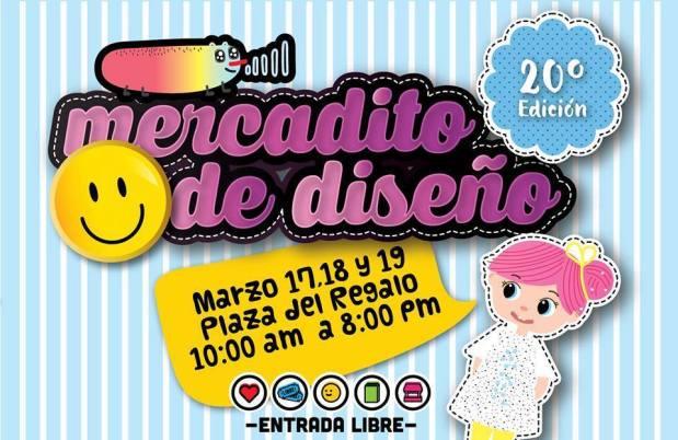 20º Edición de Mercadito de Diseño @ Plaza del Regalo | San Luis Potosí | San Luis Potosí | México