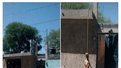 Photo of Formalizan denuncia contra persona que colgó a perro en Villa de Pozos