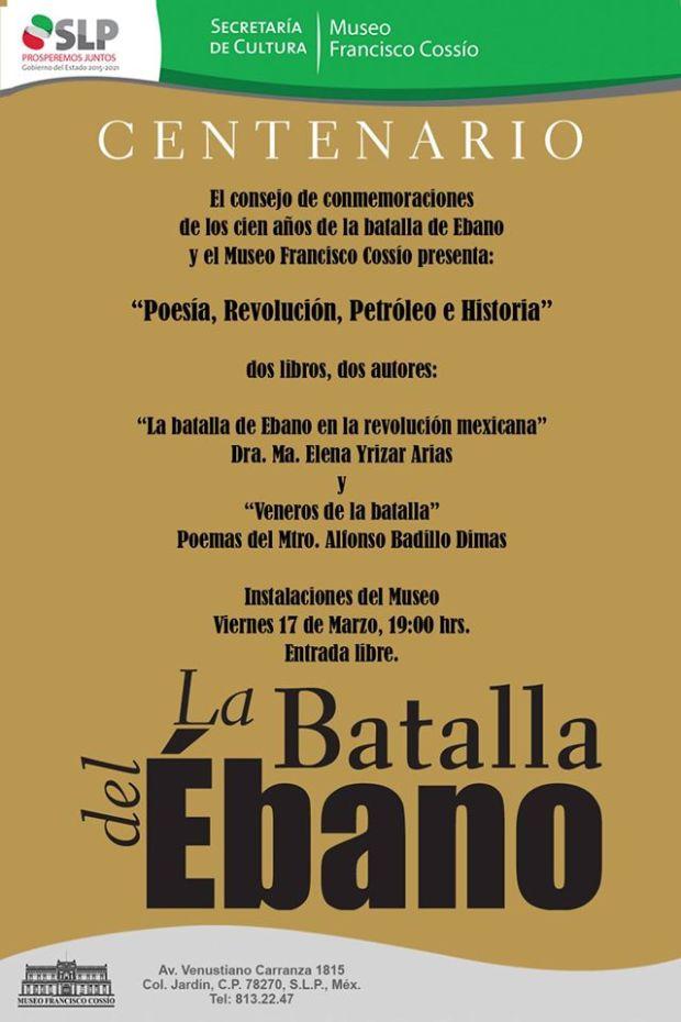 """""""Poesía Revolución y Petroleo"""" @ Museo Francisco Cossío"""