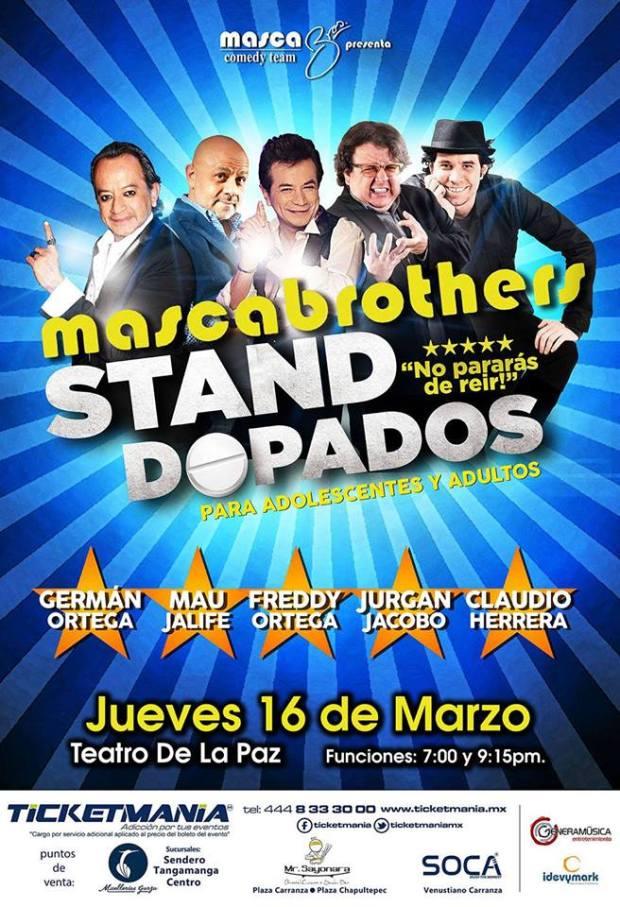 Standopados en San Luis Potosí @ Teatro de la Paz
