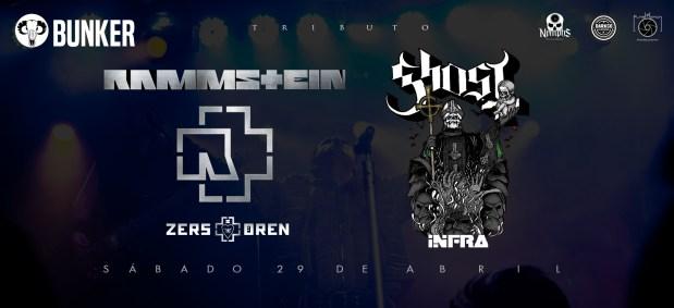 Tributo Rammstein / Ghost @ Steel Metal Bunker