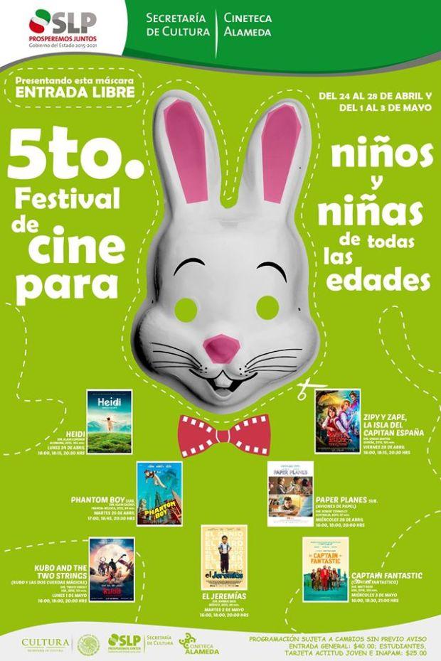 5to Festival De Cine Para Niños Y Niñas De Todas Las Edades @ Cineteca Alameda