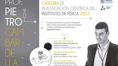 Photo of Instituto de Física de la UASLP prepara cátedra de investigación 2017