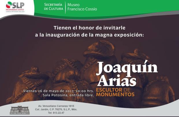 La obra monumental de Joaquín Arias en el Francisco Cossío @ Museo Francisco Cossío