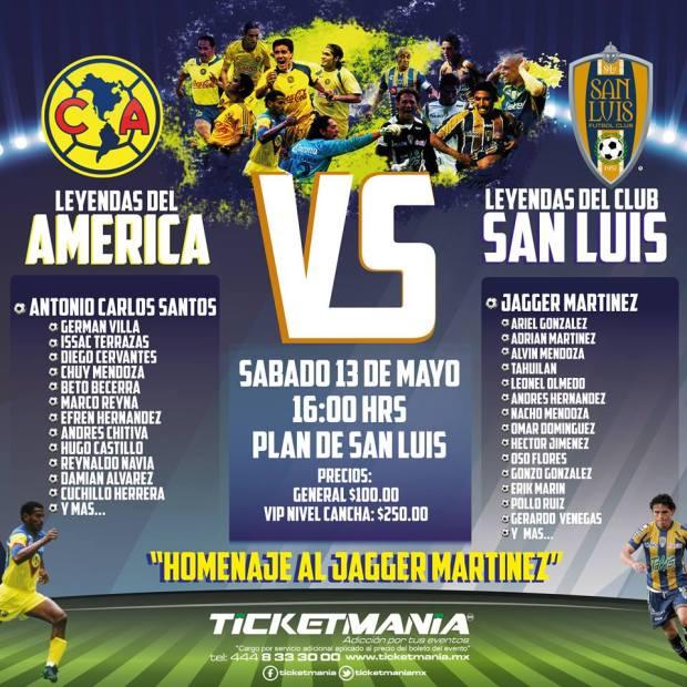 Leyendas América vs Leyendas San Luis @ Estadio Plan de San Luis | San Luis Potosí | San Luis Potosí | México